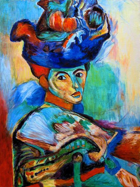 henri matisse la femme au chapeau